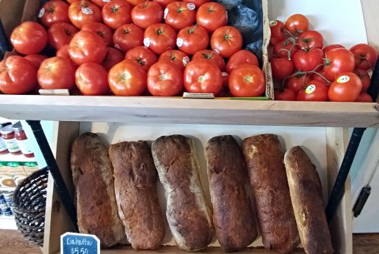 Montrose, CO: Local tomatoes and bread