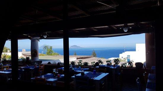 Santa Marina Salina, Italien: Niesamowity widok
