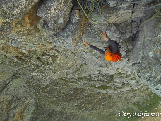 Cape Town, South Africa: Definitely more for the (slightly) experienced, Alpine Climbing in our back yard