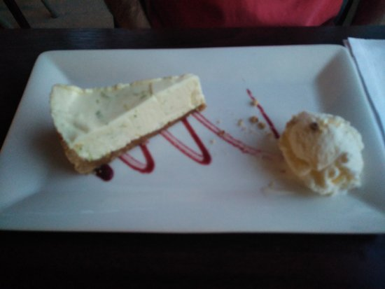 Port of Menteith, UK: key lime pie