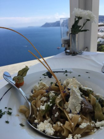Best food we had in Santorini