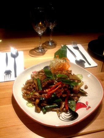 Castle Hill, Australien: Pad Kee Mao noodle
