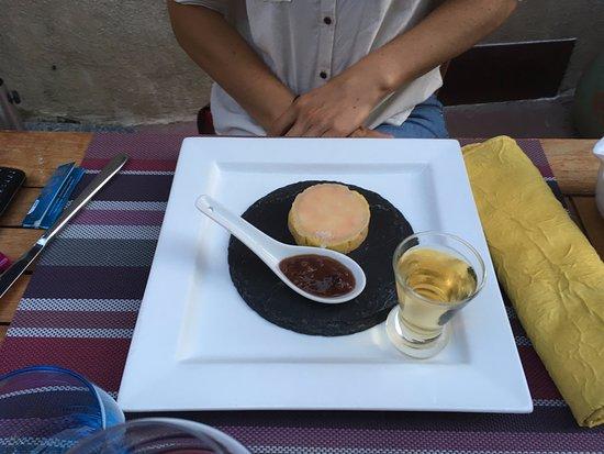Le Luc, France : Le gourmandin de foie mi-cuit