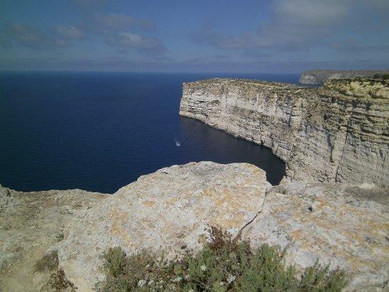 Victoria, Malta: Blick auf Gozos Steilküste