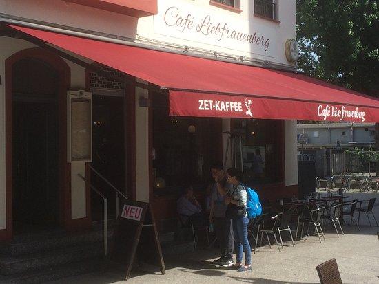 Cafe liebfrauenberg frankfurt restoran yorumlar for Liebfrauenberg frankfurt