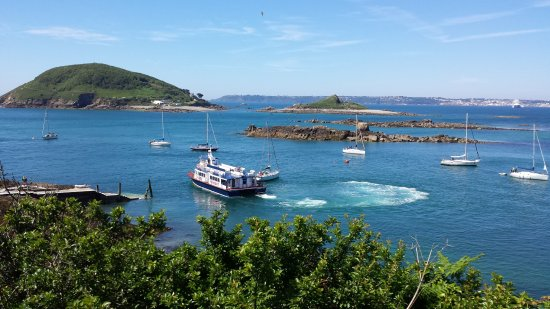 The Duke of Richmond Hotel: Ferry from St Peter Port to Herm