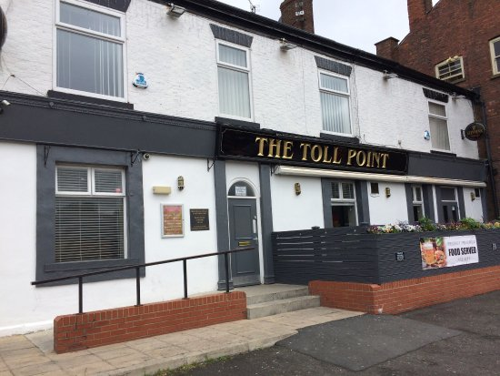 Denton, UK: The Toll Point, May 2017