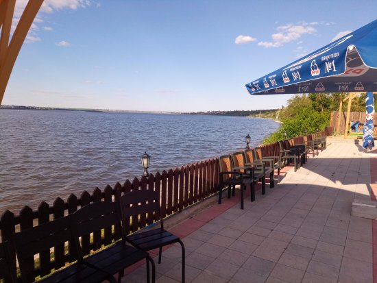 Mykolayiv, Ukraina: Балдино: вид на реку