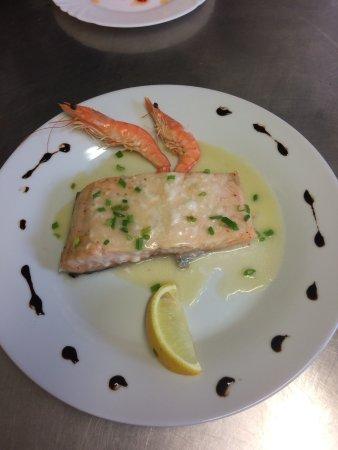 Baigts, France: saumon frais