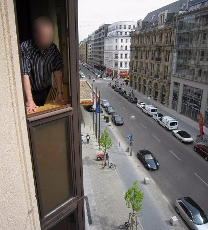 The Westin Grand Berlin: View from Spa Suite #313