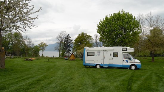 Estavayer-le-Lac, Switzerland: emplacement