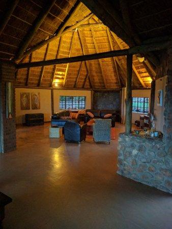 Thabazimbi, Sør-Afrika: Lounge area