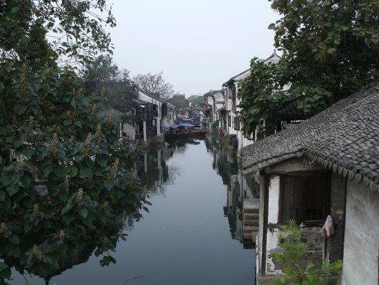 Kunshan, Çin: Water lane