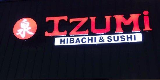 Leeds, Алабама: Izumi Japanese Cuisine
