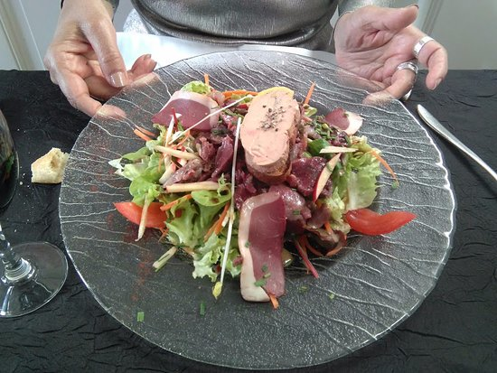 Condom, Francia: foie gras et magret