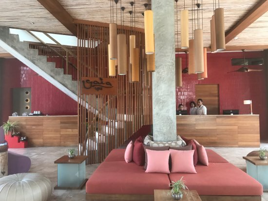 Let's Sea Hua Hin Al Fresco Resort : Lobby Area