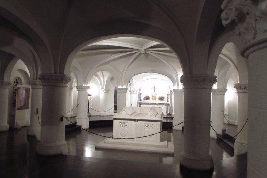Catedral de la Plata: Cripta