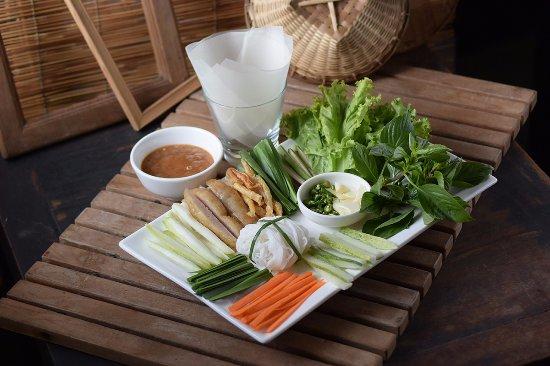 Pho Van Vietnamese Restaurant Best Seller Nem Nuong Vietnamese Grilled Pork In Dry