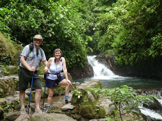 Parrita, Costa Rica: At the waterfall