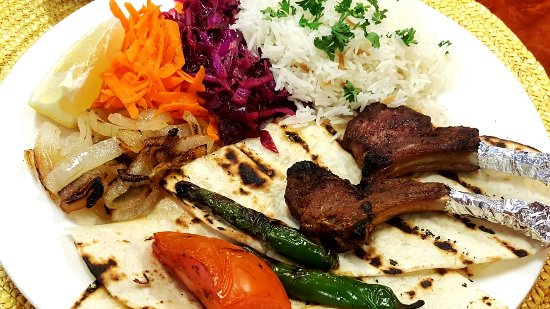 Williston, Dakota del Nord: Lamb Rib Kebab