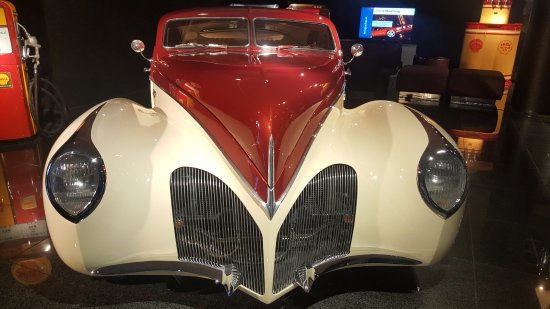 Danville, Californien: Vintage cars in the automotive museum