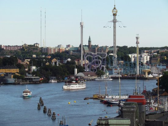 Radisson Blu Strand Hotel, Stockholm: View from Tower Suite #1001