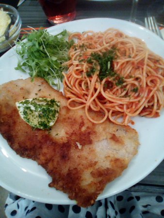 Ворст, Бельгия: Escalope ( suggestion du jour)