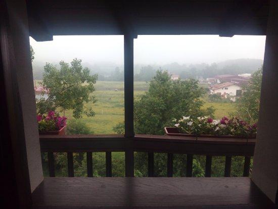 Arizkun, España: Vista desde la habitación 25