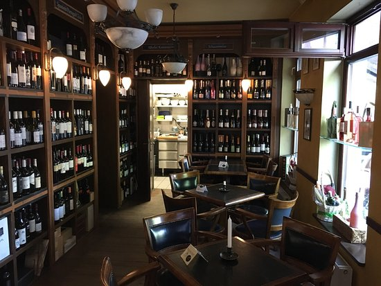Neuruppin, Tyskland: Weinhaus