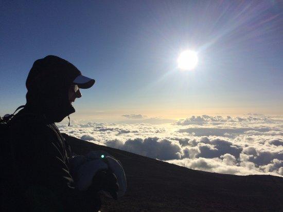 Makawao, Hawaï : Sunset
