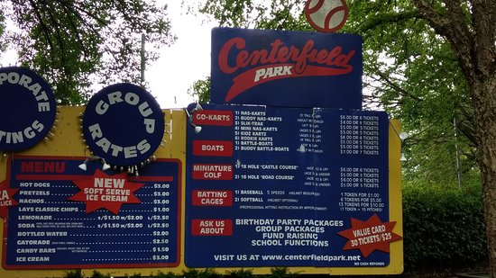 Centerfield Park Family Fun Center