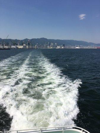 Kobe Bay Cruise: 海上から神戸を臨む