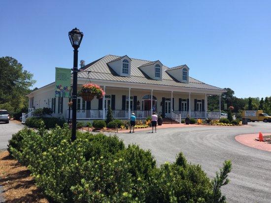 Visitor Center Picture Of Coastal Georgia Botanical Gardens Savannah Tripadvisor
