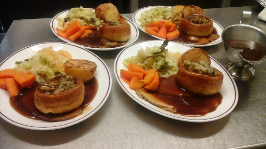 Pembrey, UK: Sunday Roast