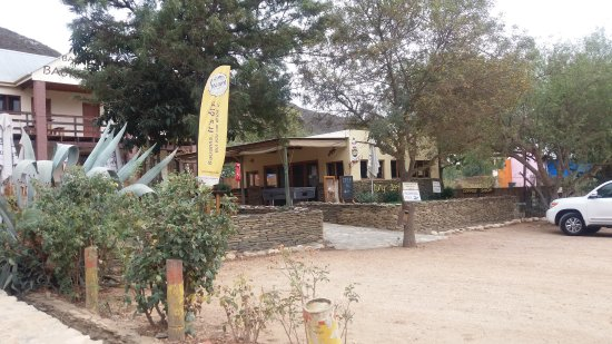 The Dung Beetle Bar at Barrydale Backpackers