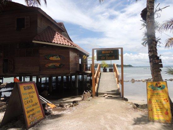 Bibi's on the beach: Bibi's