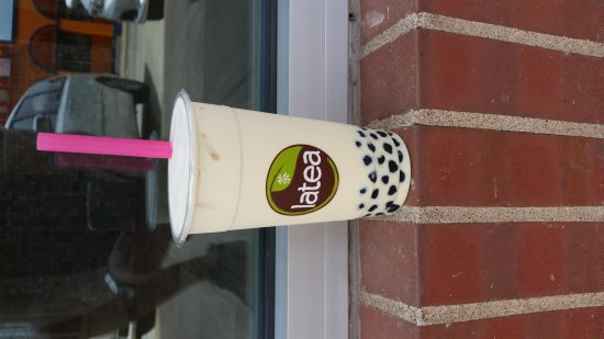 Champaign, IL: House green milk tea