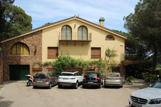 Arenys de Munt, İspanya: Vista del Restaurante