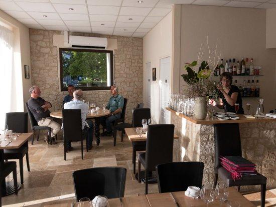 Eymet, Frankrike: The restaurant