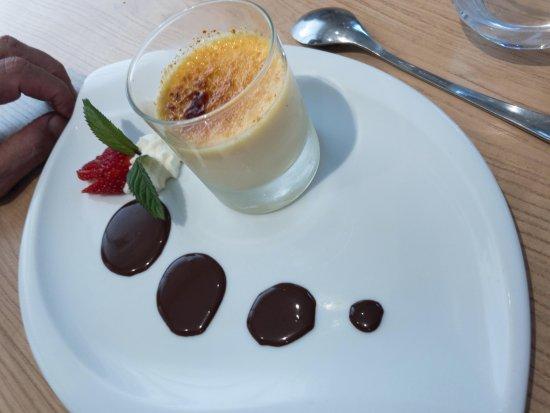 Eymet, Frankrike: Crème brulé