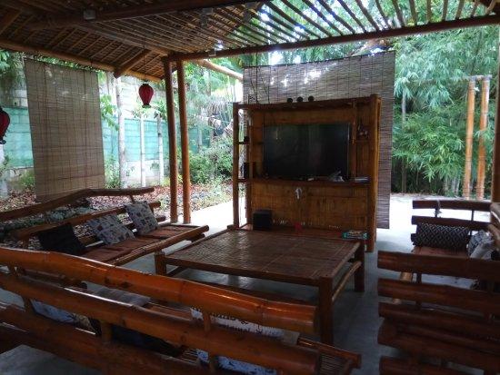 Dauis, Philippines: Зона для отдыха и релакса.
