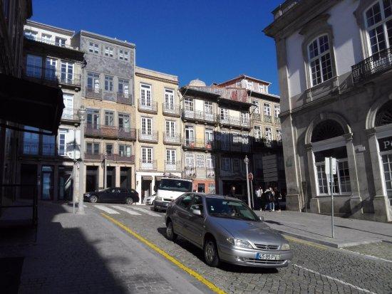 Hotel da Bolsa: vista desde el hall del hotel