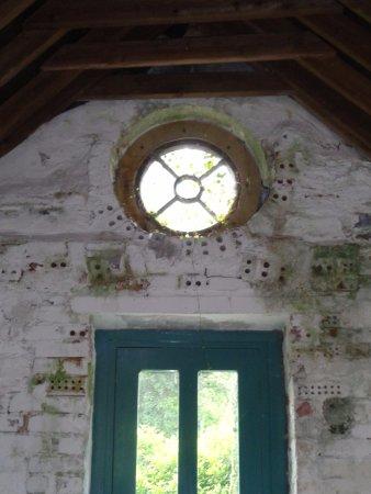Kylemore, Ierland: ivy window