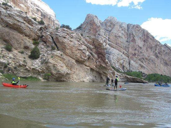 Jensen, UT: Paddle Boarding & kayaking on Yampa River