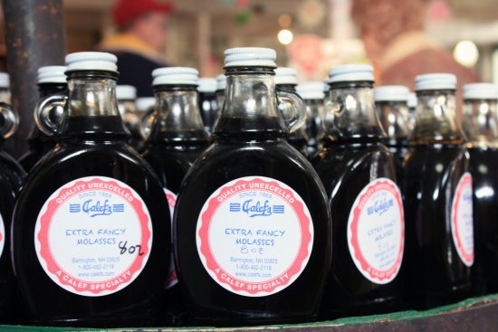Barrington, NH: Calef's famous molasses