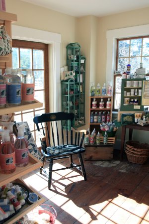 Barrington, NH: A peak of our sister store, Calef's Country Cupboard ft beauty products & unique kitchen item