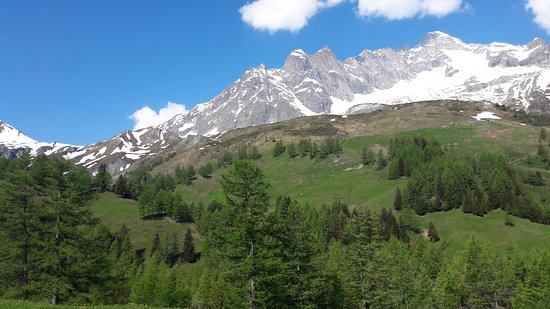 La Fouly, Zwitserland: Camping des glaciers