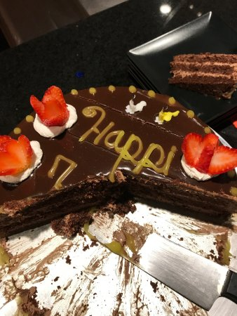 Delicious Birthday Cake For Hubby Picture Of Excellence El Carmen