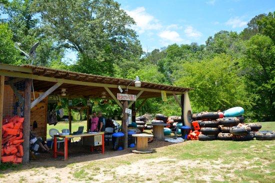 Ellijay, GA: Cartecay River Put In Location