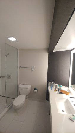 Bethesda, MD: Shower in high floor king bedroom